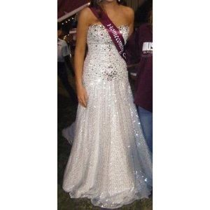 Dresses & Skirts - Silver Evening Gown/Prom, Homecoming, Pageant
